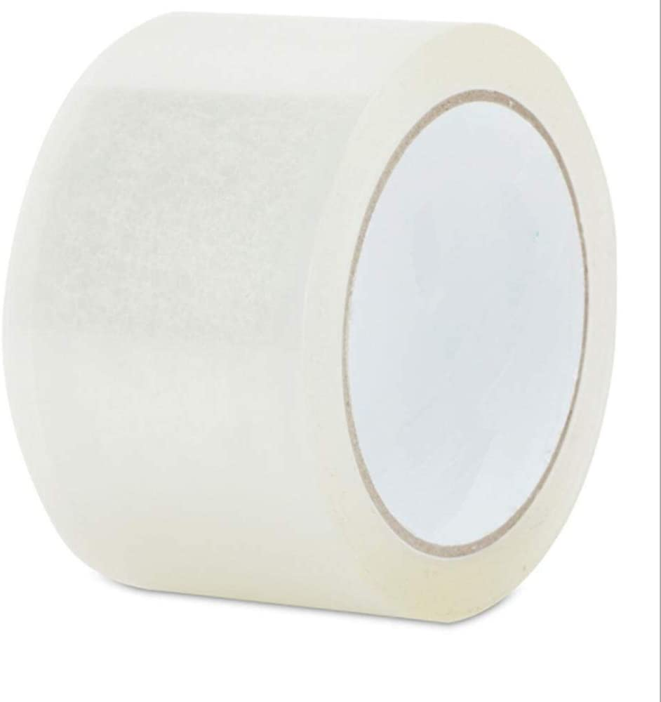 18 Rolls of 2-inch x 55 Yards Clear Tape - Packing Tape 2-Mil Thickness 182