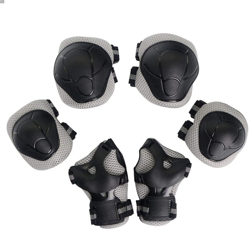 Kid Protective Gear Set Children Knee Pads Elbow Pads with Whist Guards Sport Safety Guard for Cycling Skateboard Scooter BMX Bike and Other Outdoor Sports Activities