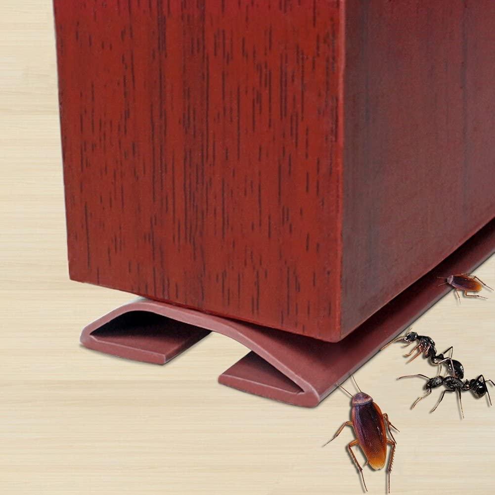 Under Door Draft Stopper,Self-Adhesive Silicone Door Bottom Seal Strip Door Gap Blocker Excluder,39