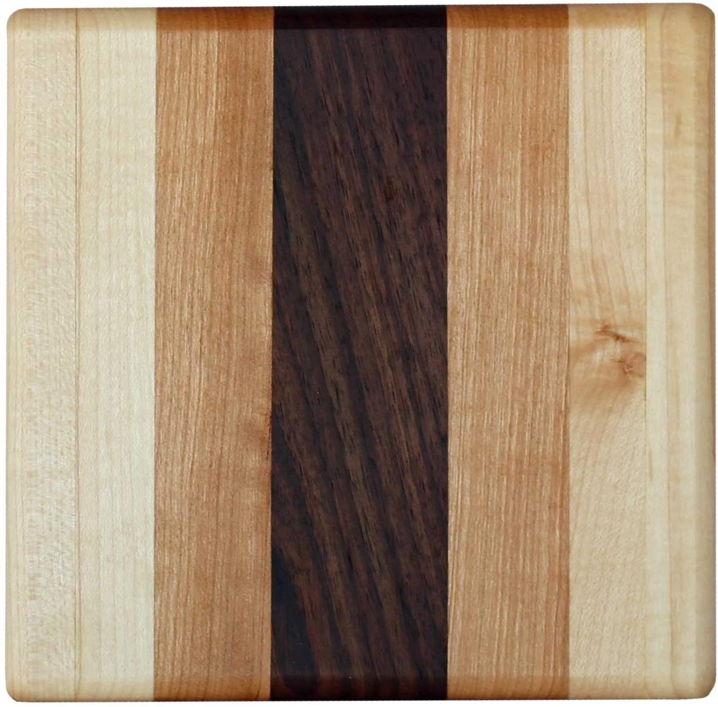 Handmade Wood Trivet, Coffee Coaster, Hot Pad, Pot Holder (Trivet 6