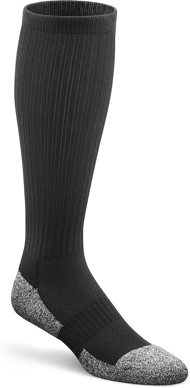 Dr. Comfort Diabetic Over The Calf Socks, Black, Medium (1 Pair)