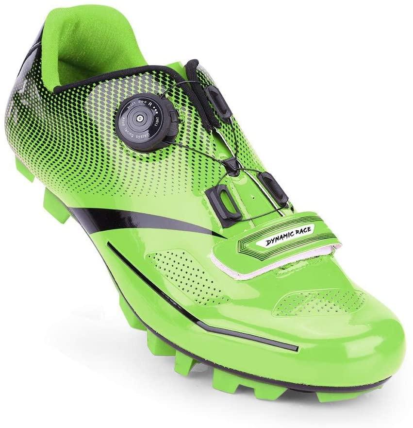 Alomejor 1 Pair Pedal Compatible Cycling Shoes Breathable Mountain Bike Shoes Anti-Skid Shoe Men Adult