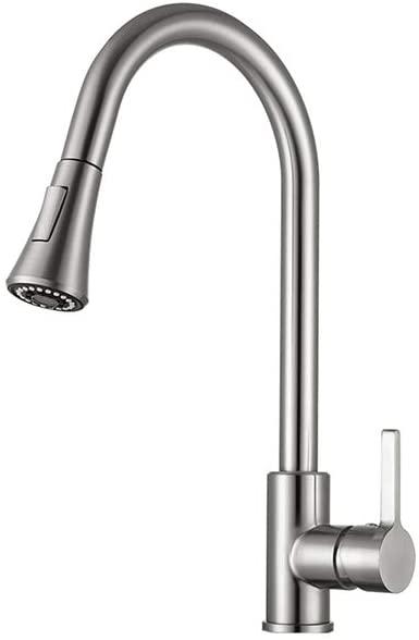 Kitchen Faucet, Stainless Steel Kitchen Sink Faucet, Sink Faucet, Pull Down Kitchen Faucets, Brushed Nickel Kitchen Faucet,Kitchen Faucet for Sink