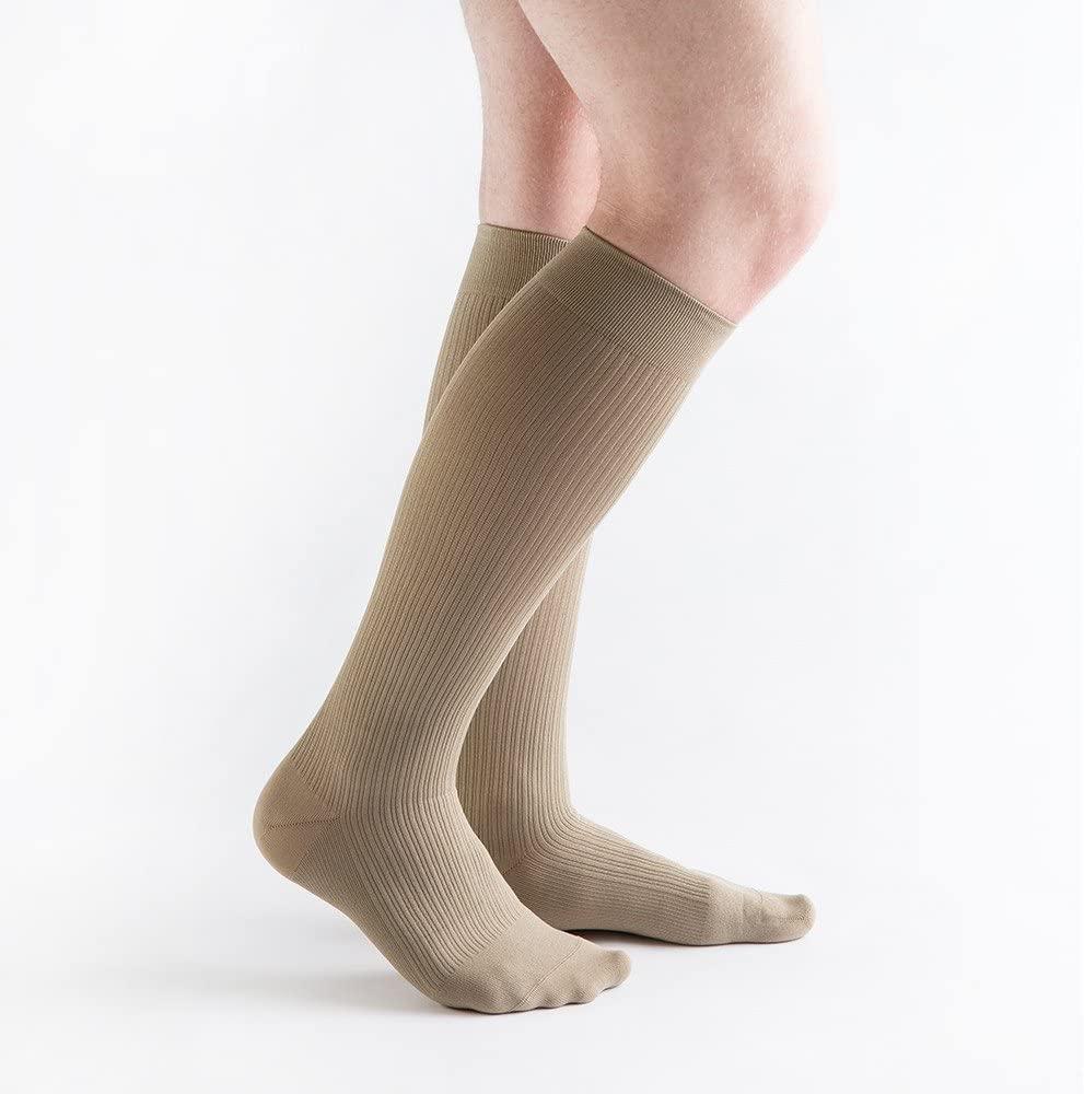 VenActive Mens 20-30 mmHg Compression Socks, Classic Rib