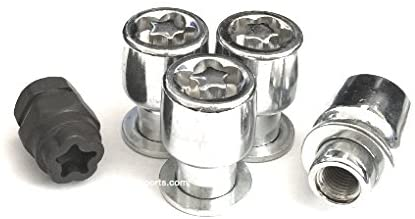 AVN Motorsports (4) 12x1.5 MAG Wheel Locks W/ (1) Puzzle Key Anti Theft Security Lug Nuts