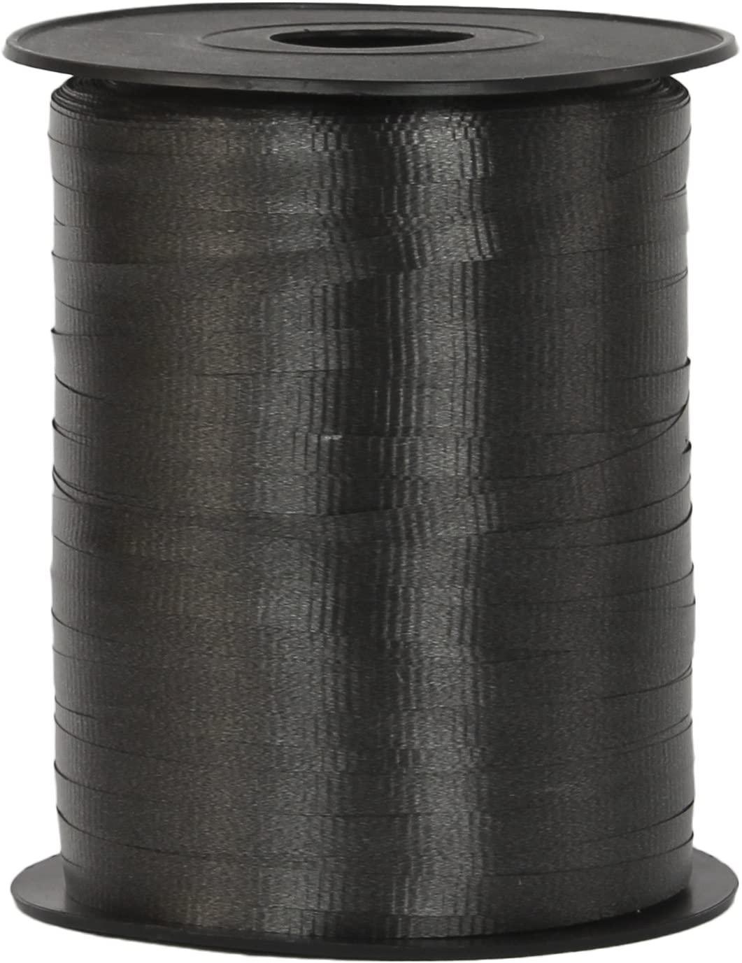 Curling Ribbon 3/16-Inch Wide by 500-Yard - Play Kreative TM (Black)