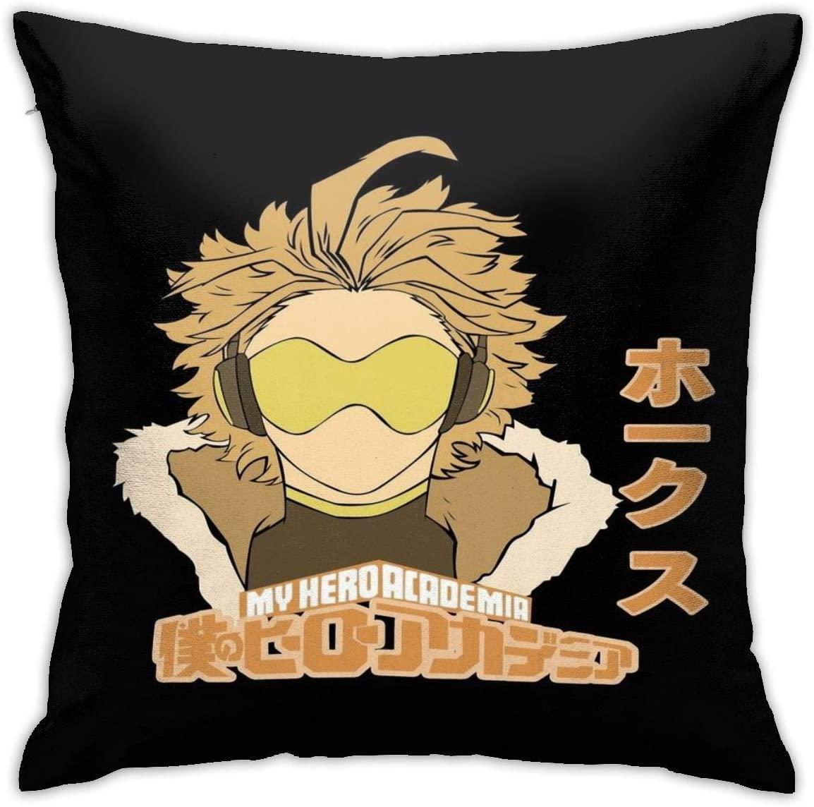 My Hero Academia Hawk Graphic Pillowcases, Floor Pillowcases, Pillowcases, Sofa Cushions, Cushion Covers, Backrest Covers, Car Cushion Interiors