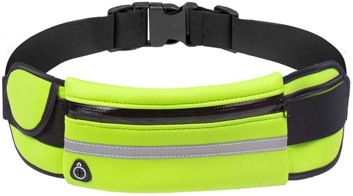 IMIKE Running Belt Fanny Packs for Women and Men, Waterproof Phone Waist Pack Bounce Free Adjustable Pouch Bag for Running, Fitness, Hiking, Cycling, Travel