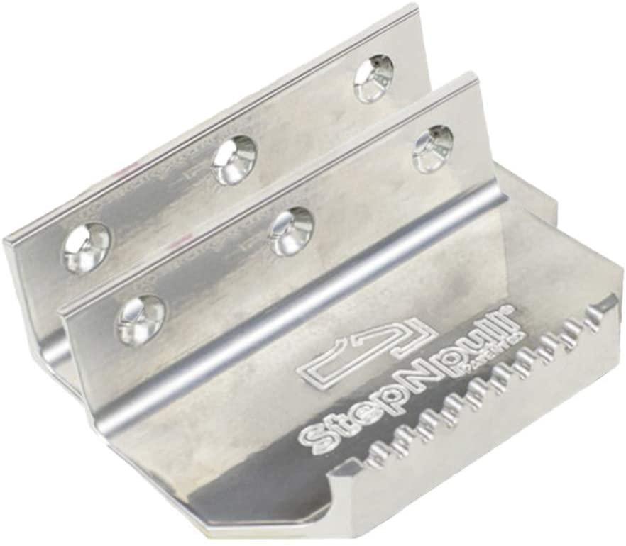 StepNpull Hands Free Door Opener (Silver, 2 Count)