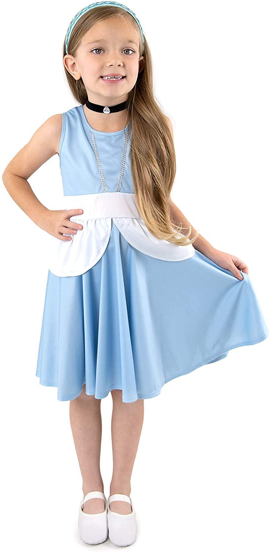 Little Adventures Cinderella Princess Twirl Dress (2)