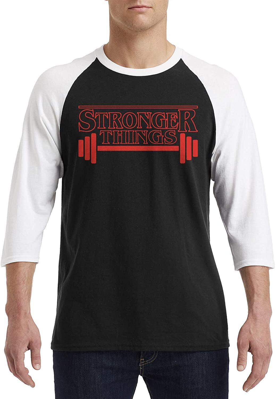 Stronger Things 3/4 Sleeve Raglan T-Shirt