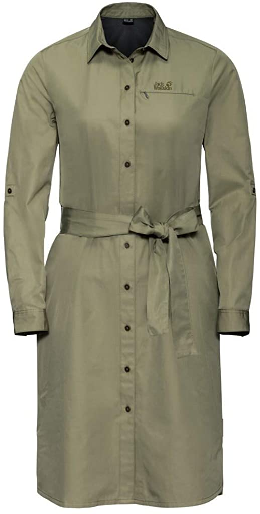 Jack Wolfskin Womens Lakeside Dress for Women's, Mosquito Proof and Uv Protective