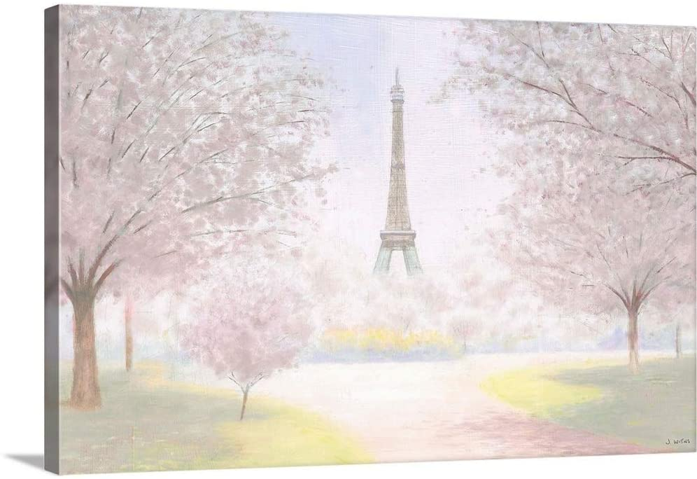 Pretty Paris Canvas Wall Art Print, 24x16x1.25