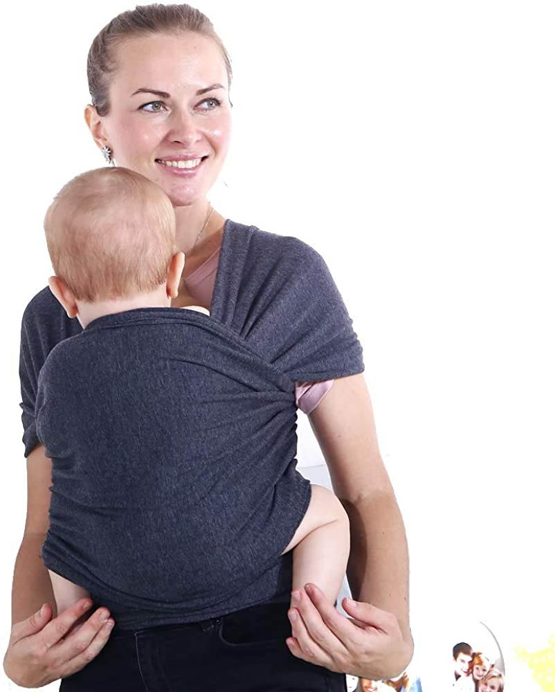 eJoyce Baby Cotton Wrap Carrier Soft Stretchy Breathable Wrap, EJ-2001