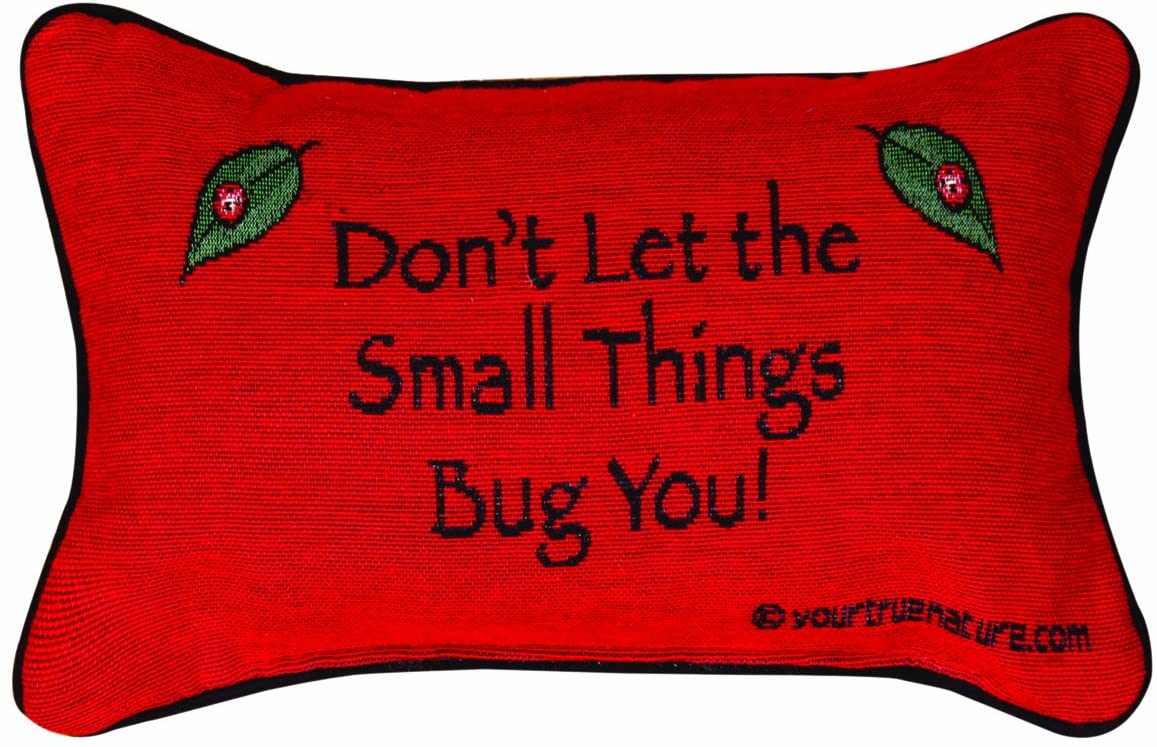 Manual The Lodge Collection Reversible Throw Pillow, 12.5 X 8.5-Inch, Advice from a Lady Bug X Your True Nature