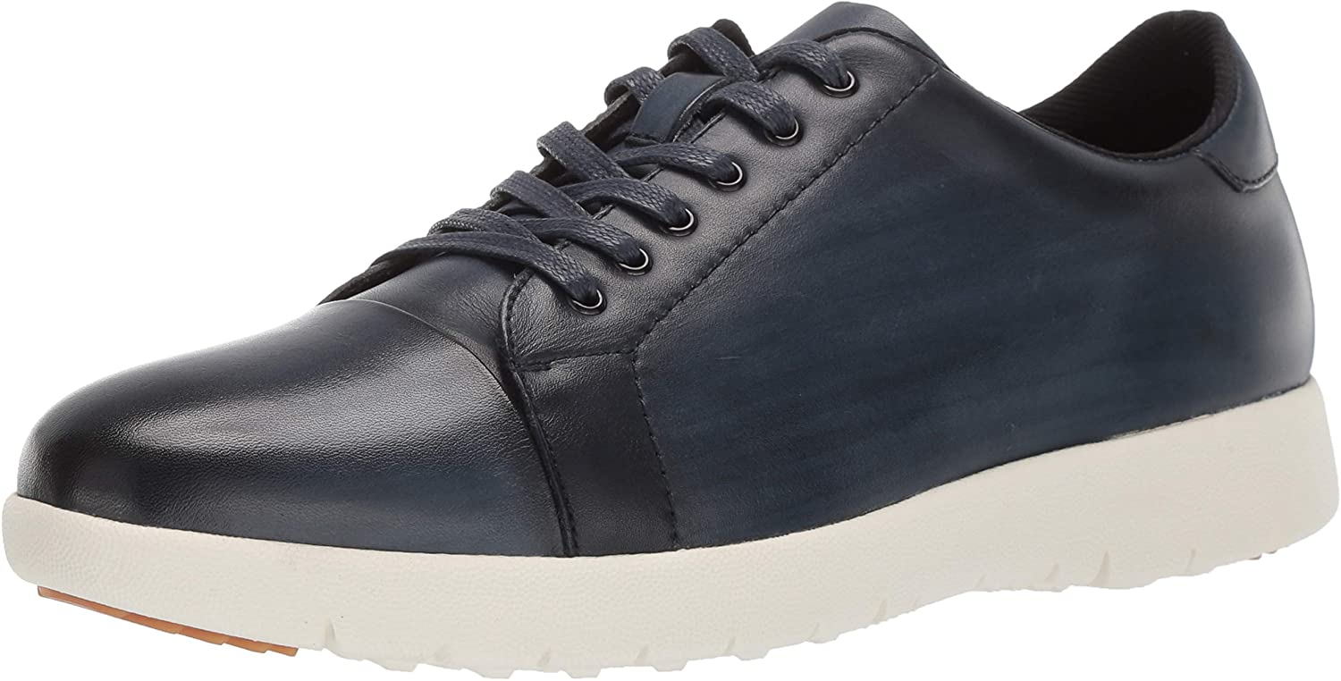 STACY ADAMS Men's Hawkins Cap-Toe Lace-up Sneaker
