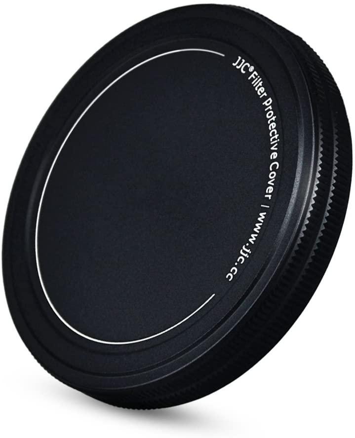 JJC Metal Lens Filter Stack Cap Filter Protective Case for 72mm Ultraviolet UV Filter Circular Polarizer CPL Filter Neutral Density ND Filter and More Filters in 72mm Thread Size,Upgraded Slim Version