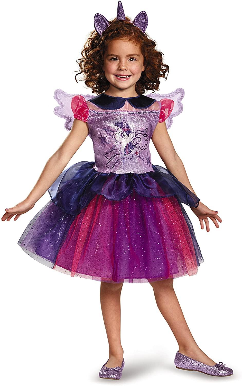 Twilight Sparkle Tutu Deluxe My Little Pony Costume, Small/4-6X