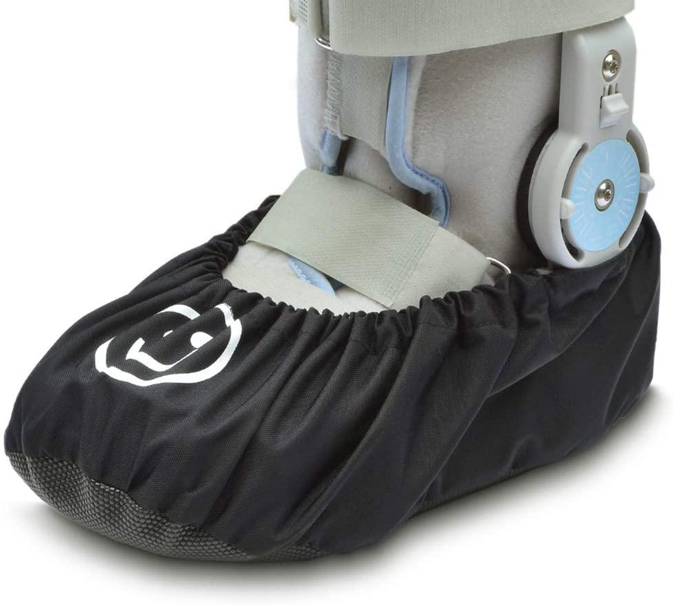 iGuerburn Medical Fracture Walking Boot/Shoe Cover Waterproof Orthopedic Foot Cast Cover (X-Large)