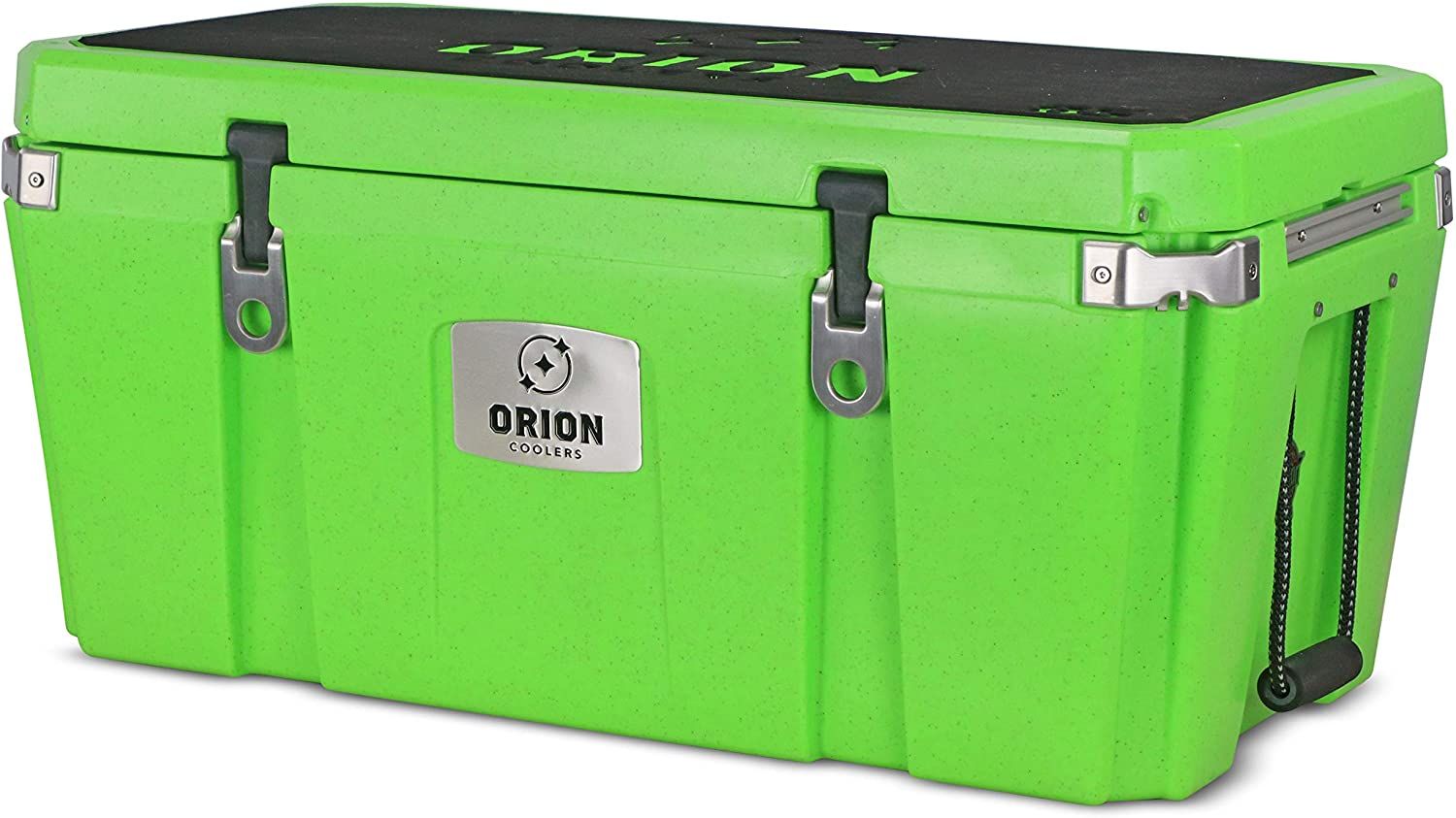 Orion Heavy Duty Premium Cooler (85 Quart, Limestone), Durable Insulated Outdoor Ice Chest for Maximum Cold Retention - Portable, Bear Resistant, and Long Lasting, Great for Hunting, Fishing, Camping