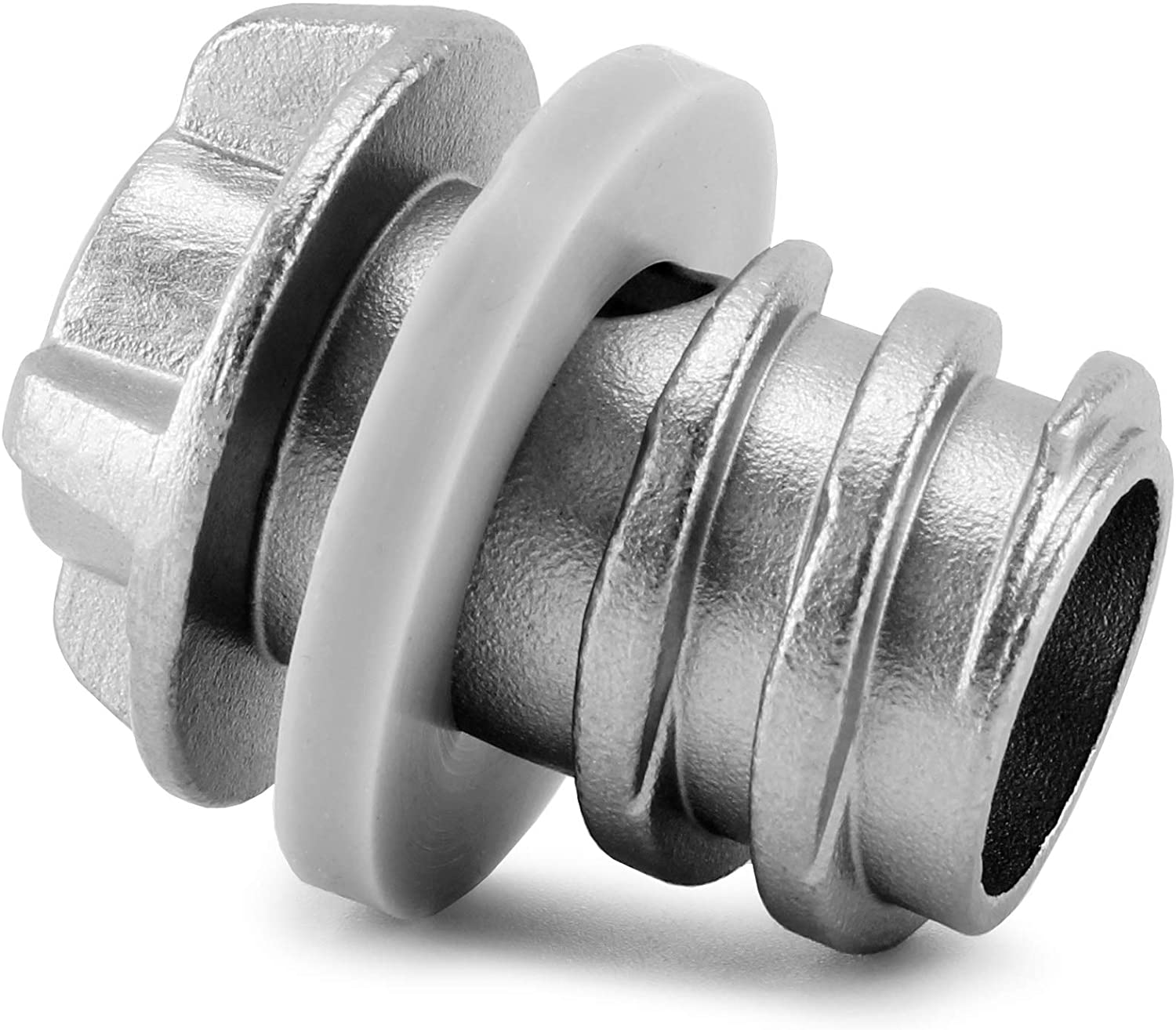 Cornucopia Drain Plug, Yeti-Compatible Stainless Steel Replacement Plug for Tundra, Roadie, and Tank Ice Buckets, Also Compatible with RTIC