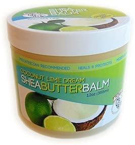 The Original CJ's BUTTer® All Natural Shea Butter Balm - Coconut Lime Dream, 12 oz. Tub