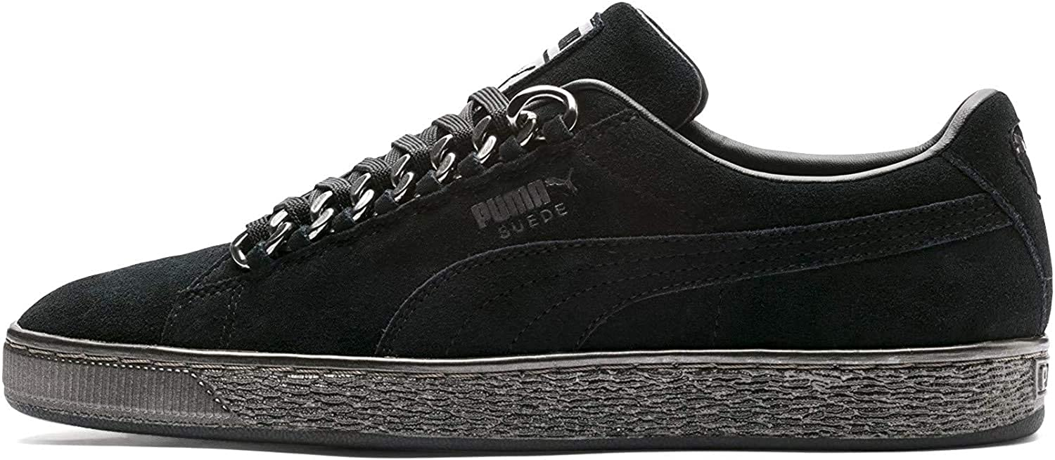 Puma Suede Classic X Chain Womens Sneakers Black