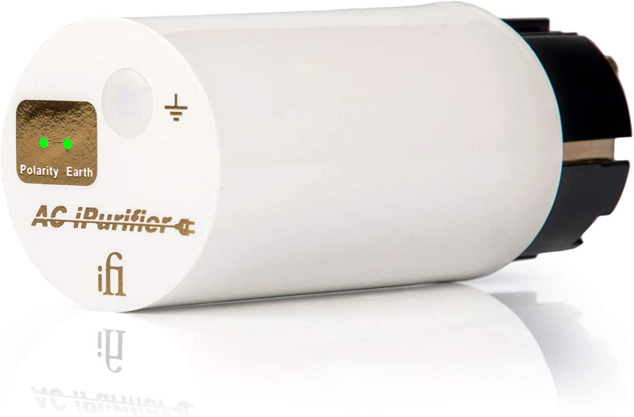 iFi AC iPurifier Mains Audio/Video Noise Eliminator/Line Conditioner/Filter/Isolator/Purifier/Whole Entertainment System Protection (AC iPurifier)
