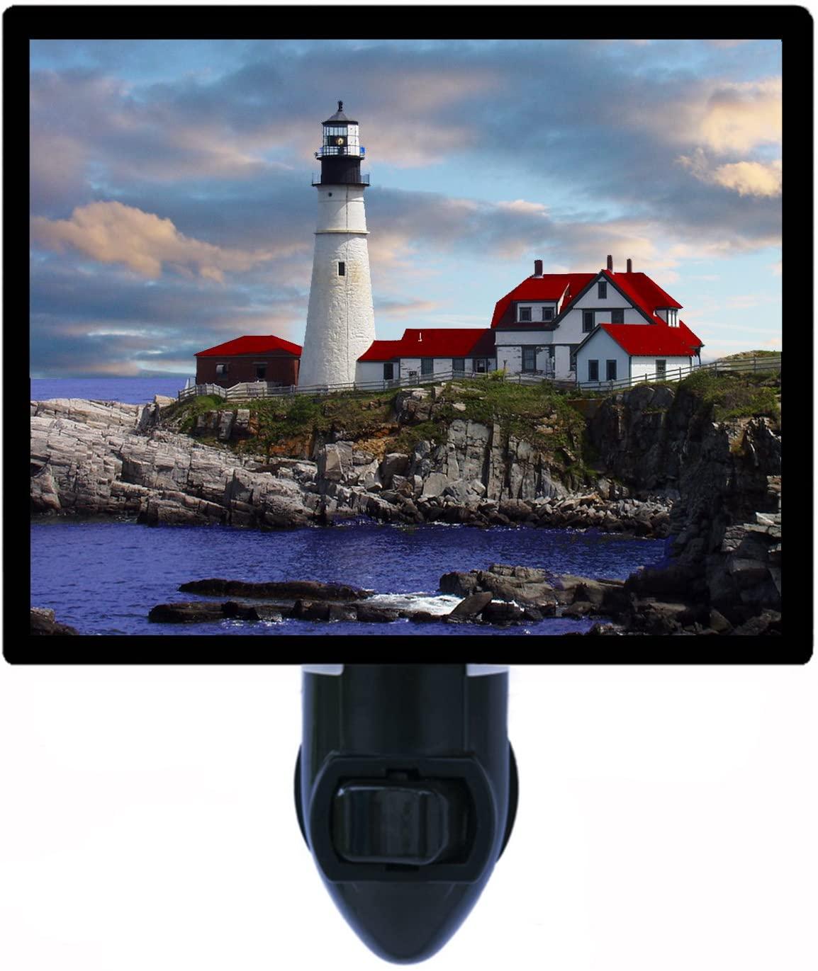 Portland Head Lighthouse Night Light