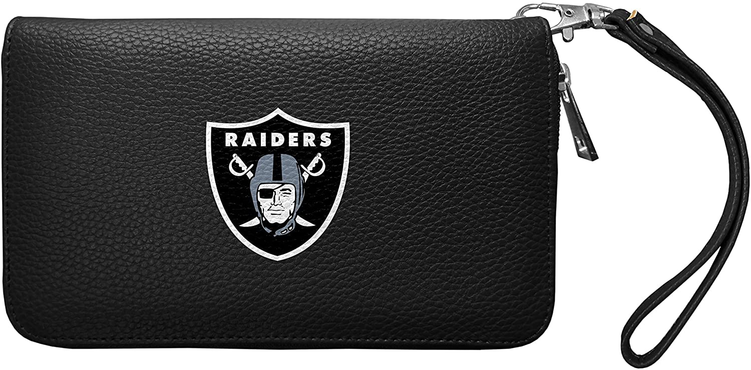 NFL Zip Organizer Wallet Pebble