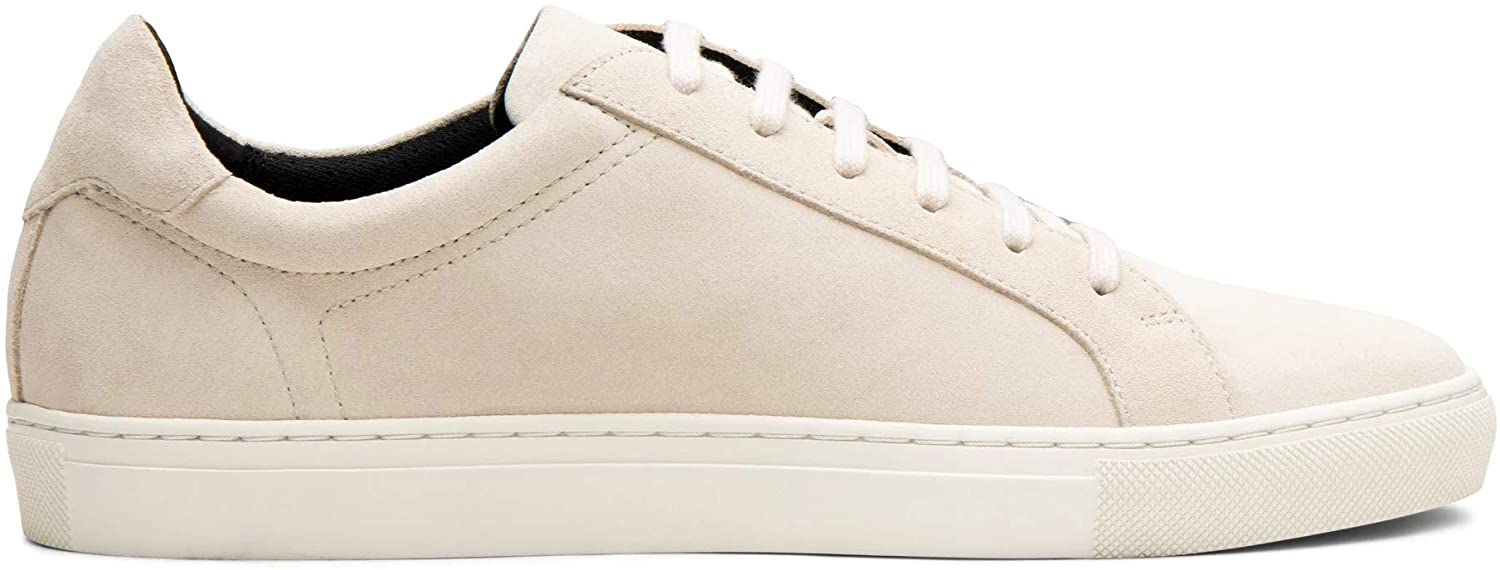 Blake McKay Jay Men's Court Sneaker Leather Low Top Fashion Sneaker with a Breathable Mesh Lining, Ortholite Insole, and Durable Rubber Cup Sole for All-Day Comfort.