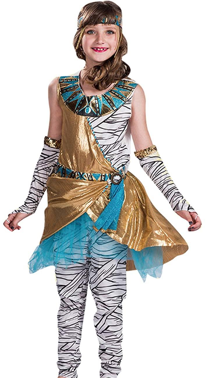 COSLAND Kids Girls' Mummy Dress Outfits Costume