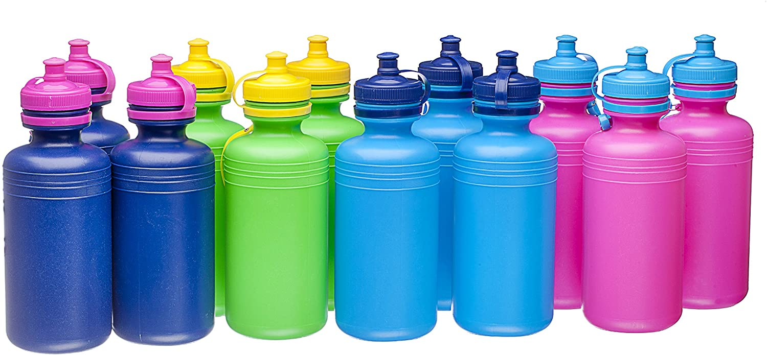 Fun toys Sport Water Bottles (1 Dozen)