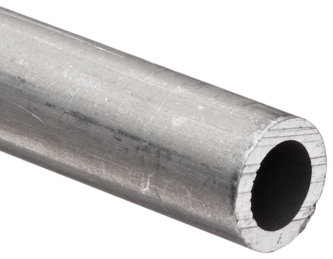 Aluminum 6061-T6 Extruded Pipe Schedule 80 1-1/4