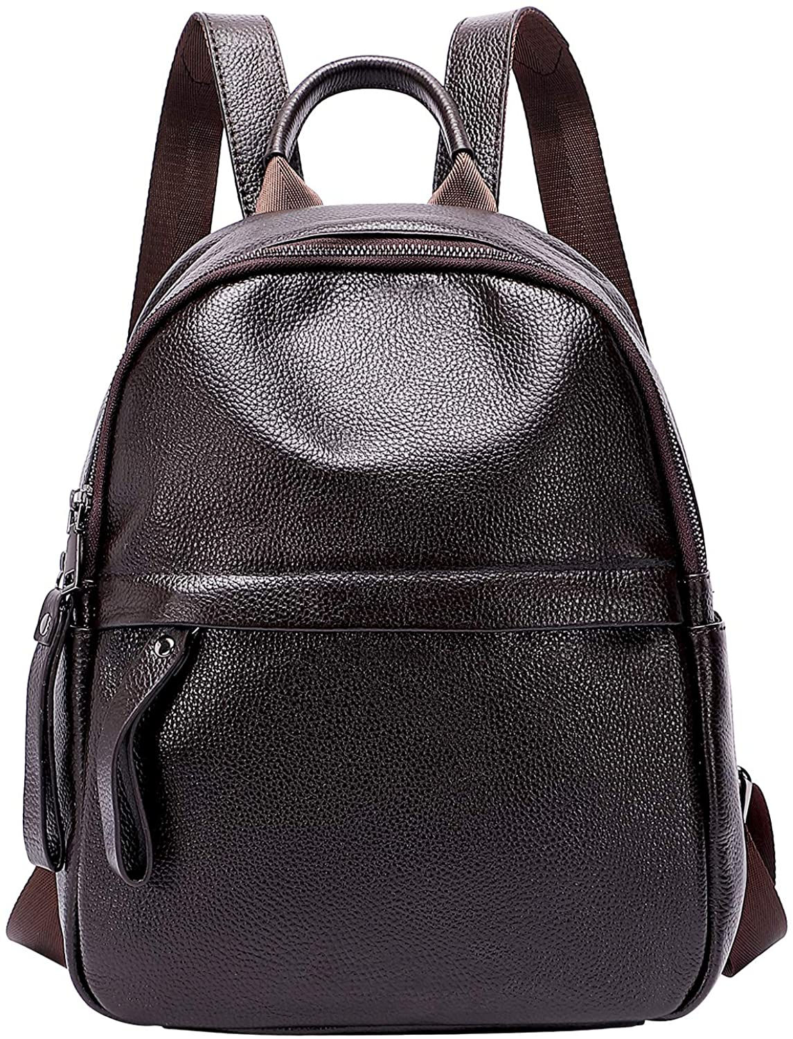 ALTOSY Soft Genuine Leather Backpack Purse for Women Fashion Casual Daypack Bag