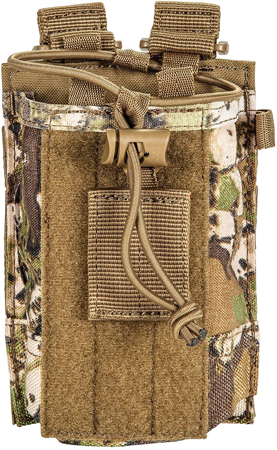 5.11 Tactical GEO7 Advanced Conceal Camo Lightweight & All-Weather Radio Pouch, Style 58718, Terrain