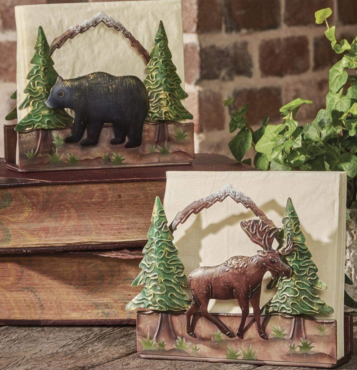 Park Designs Bear Napkin Holder