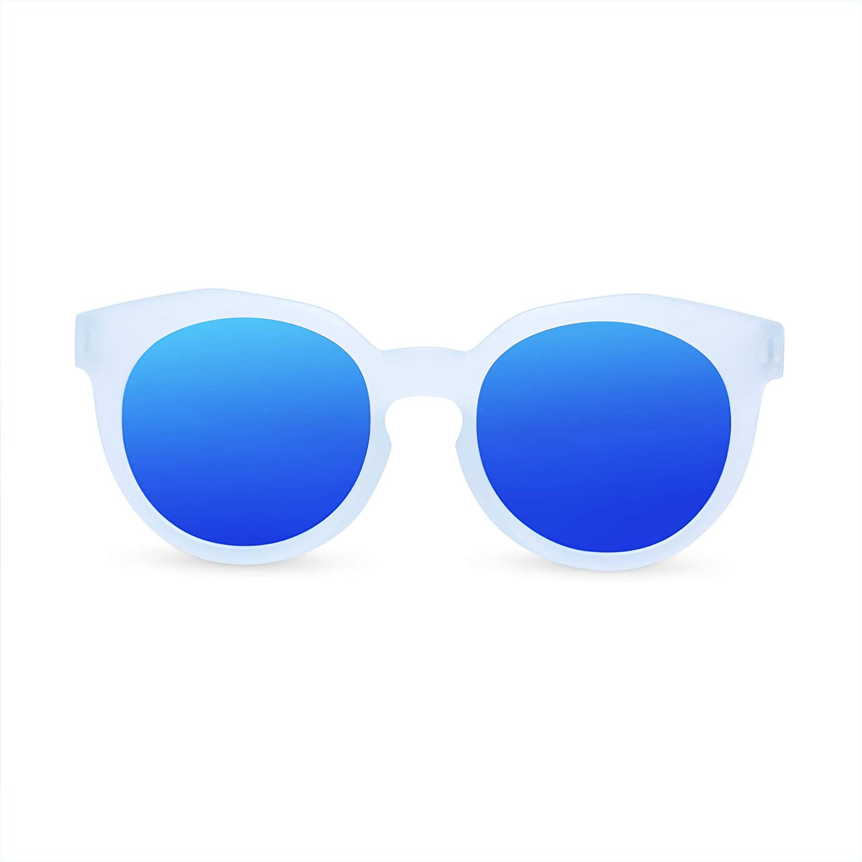 ETCBUYS Neon Kids Sunglasses - Plastic Children Eyewear Ideal for Beach Pool Party Carnivals Goody Unisex