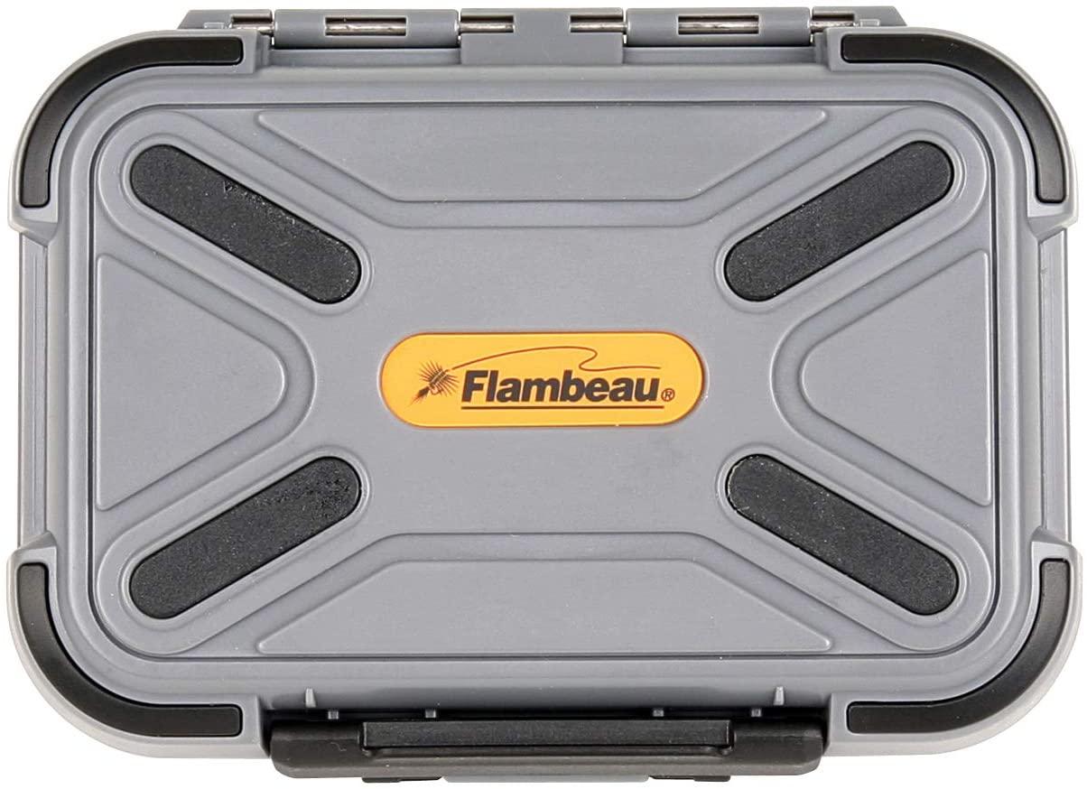 Flambeau Outdoors 2926CR Blue Ribbon Waterproof Fly Box - Medium - Compartment/Ripple Foam