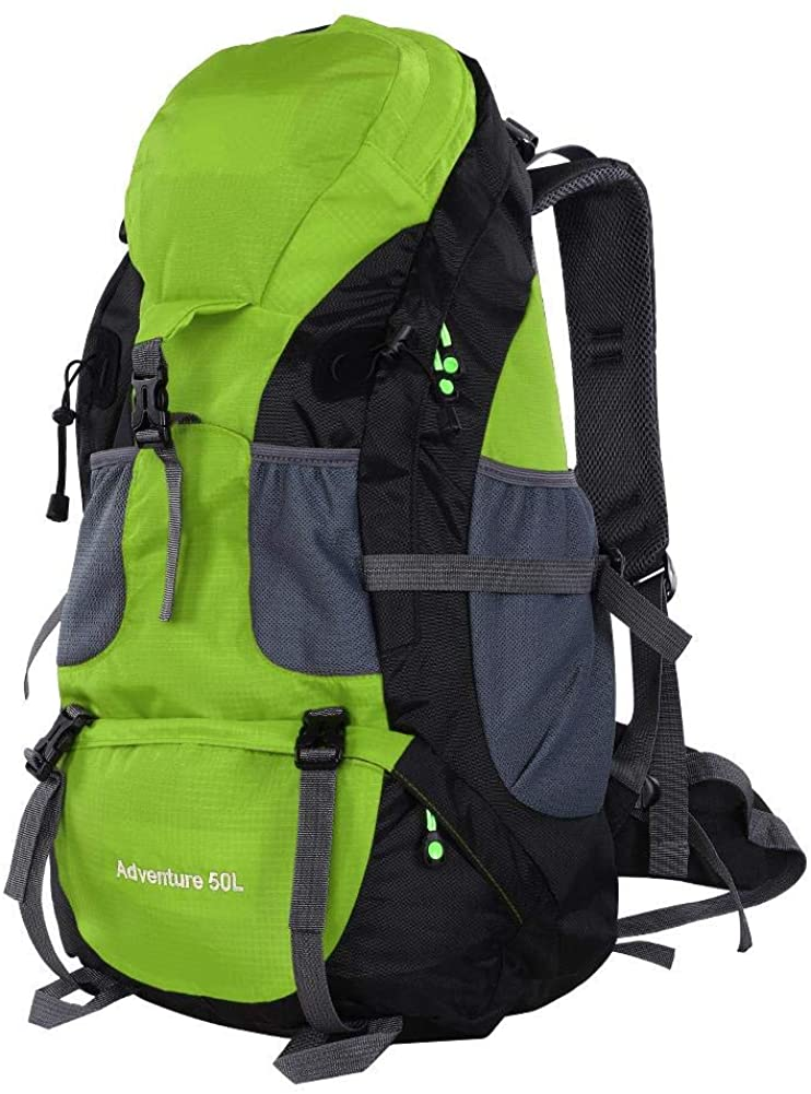 Zerone 50L Waterproof Bag Camping Climbing Outdoor Travel Hiking Backpack