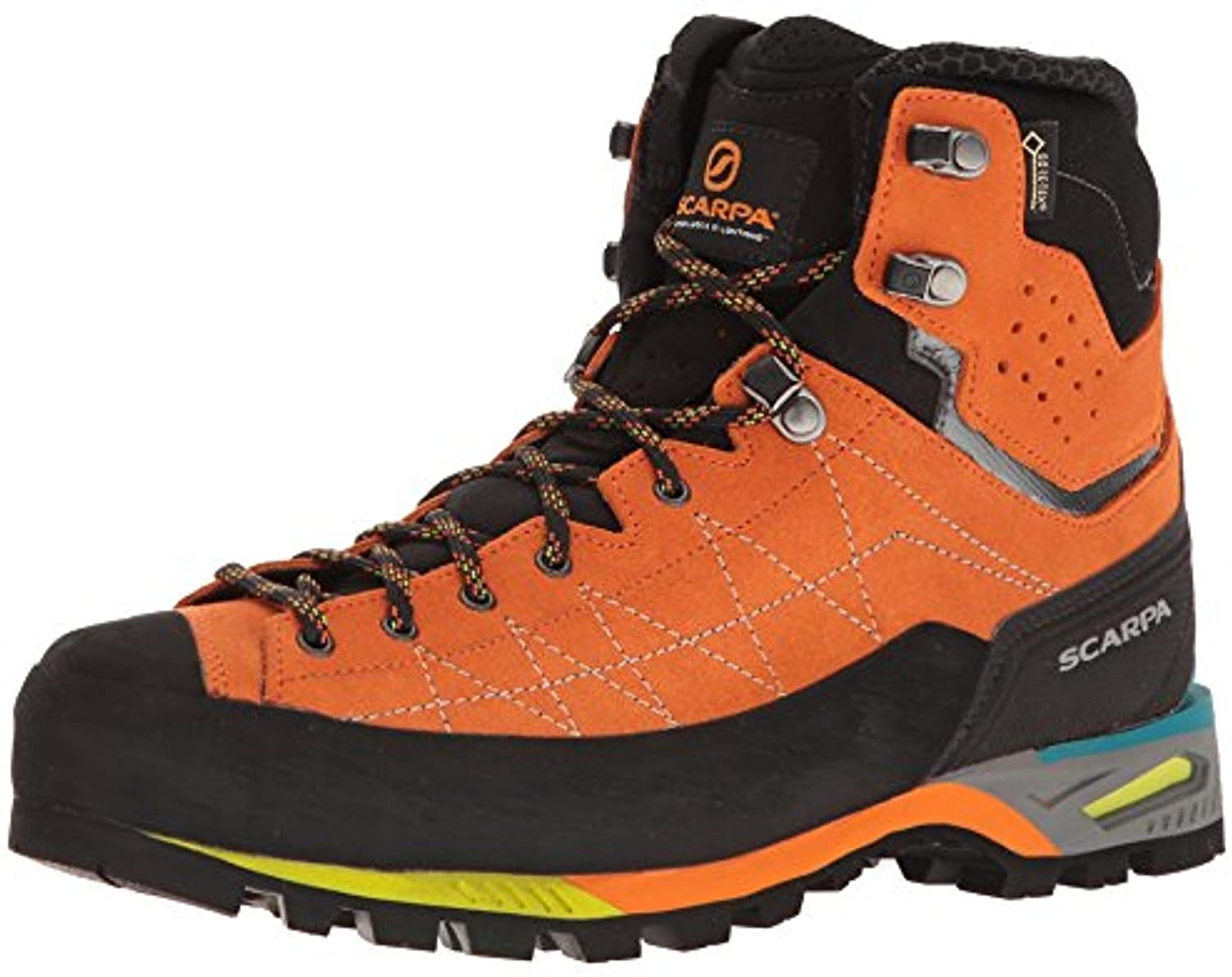 Scarpa Mens Zodiac Tech GTX Hiking Boots & E-Tip Glove Bundle