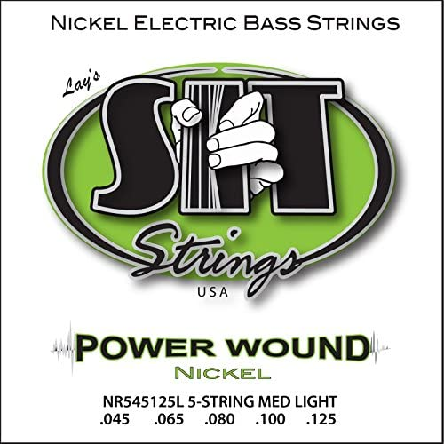 SIT Strings S.I.T. Stay In Tune NR545125L 5-String Light Power Wound Nickel Bass