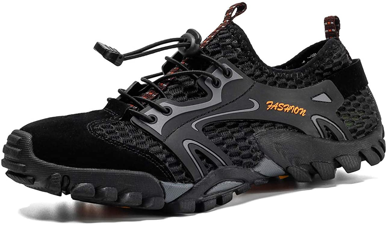 ADYSUN Breathable Running Shoes for Men Women Unisex Athletic Walking Sneakers Trekking Hiking Boots Trainer(Size 6.5-15)