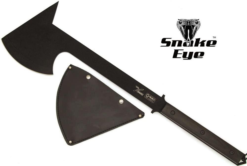 Snake Eye Tactical Heavy Duty Full Tang Handmade Super Axe w/G-10 Handle Outdoors Hunting Camping Fishing
