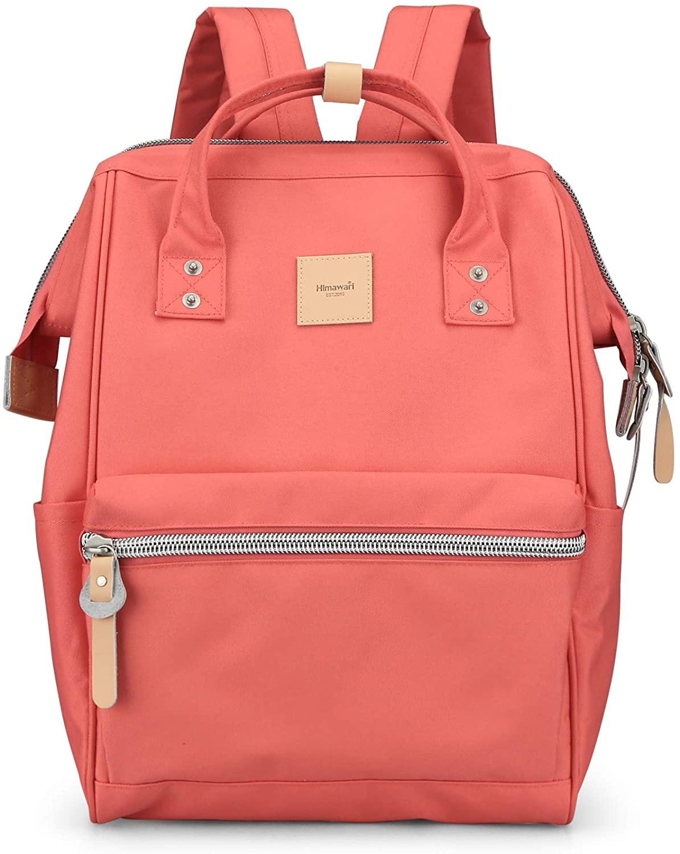 Himawari Travel Backpack Spacious School Backpack Waterproof Doctor Bag Luggage for Women&Men, 15 Inch(1881-XGH)