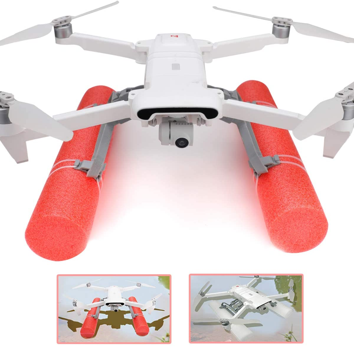 Rcgeek Landing Gear Leg Extension Floating Stick Kits Compatible with XIAOMI FIMI X8 SE 2020 Drone Landing on Water FIMI X8 SE 2020 Drone Extenders Holder Emergency Landing Training Part Accessories