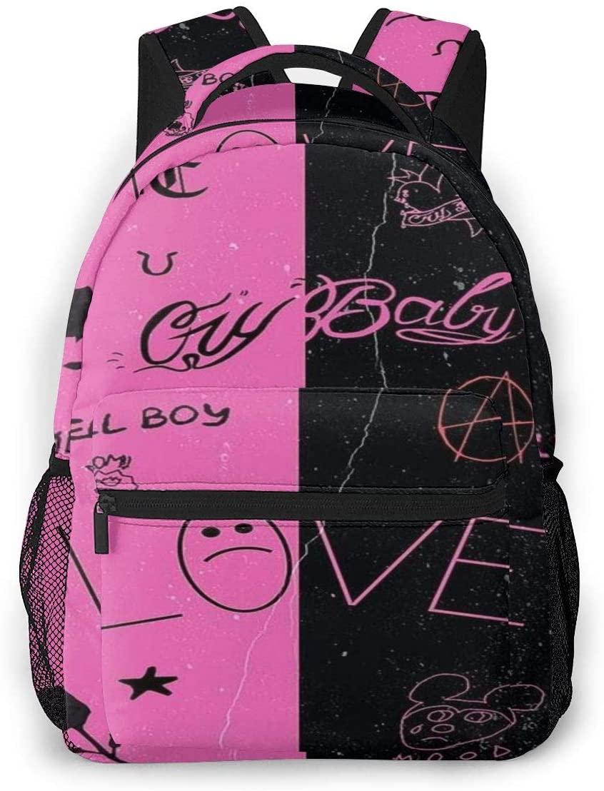 Other1 Lil Peep Fashion Lightweight Backpack for School,Travel Backpack Laptop Backpack for Women Men