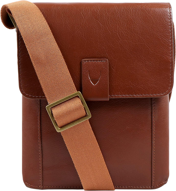 Hidesign Aiden Genuine Leather Mini Crossbody Men/Women Messenger Bag / Travel Bag / 10.5