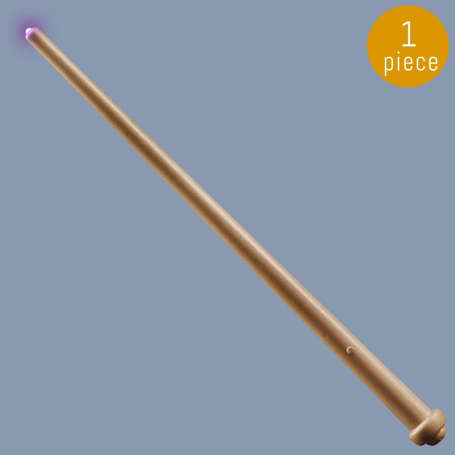 Lumistick LED Light Up Wizard Wand - Pretend Play Witch Wand with Lights Sounds - Great Gift for Kids Party Favors, Birthday, Festival (1 Wand)
