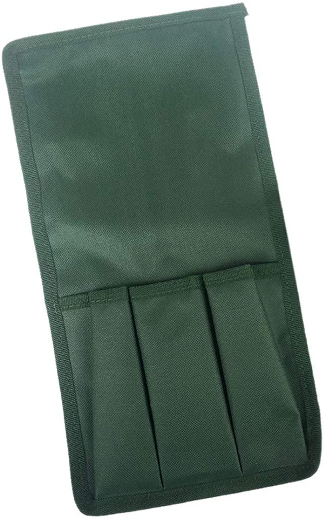 minansostey Garden Kneeler Tool Bag, Folding Small Cloth Belt Bag, Multi-pocket Large Capacity Garden Tool Storage Finishing Pack